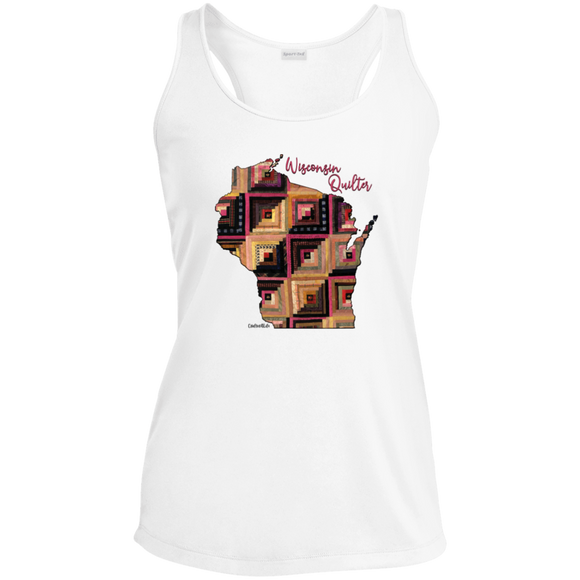 Wisconsin Quilter Ladies' Racerback Moisture Wicking Tank