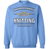 I Am Happiest When I'm Knitting Crewneck Sweatshirts - Crafter4Life - 6