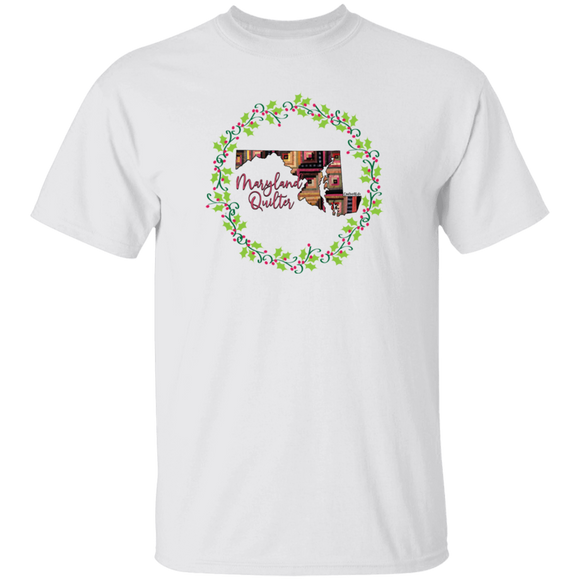 Maryland Quilter Christmas T-Shirt