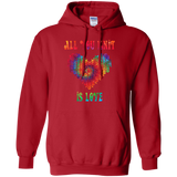 All You Knit Heart Pullover Hoodie
