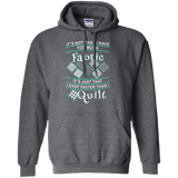 I Shop Faster than I Quilt Pullover Hoodies - Crafter4Life - 4