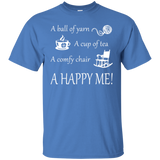 A Happy Me Custom Ultra Cotton T-Shirt - Crafter4Life - 7