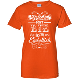 Scrapbookers Don't Lie Ladies Custom 100% Cotton T-Shirt - Crafter4Life - 1