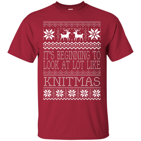 Knitmas Custom Ultra Cotton T-Shirt