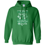 I Shop Faster than I Quilt Pullover Hoodies - Crafter4Life - 6