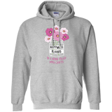 Happiness Blooms with Crafts Pullover Hoodie 8 oz - Crafter4Life - 1