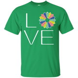 LOVE Quilting (Primary Colors) Custom Ultra Cotton T-Shirt - Crafter4Life - 2