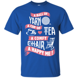 Yarn-Tea-Chair Ultra Cotton T-Shirt