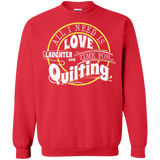 Time for Quilting Crewneck Sweatshirts - Crafter4Life - 5