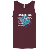 Crocheting Grandma Cotton Tank Top