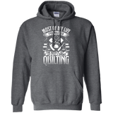 Most of My Life (Quilting) Pullover Hoodies - Crafter4Life - 4