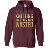 Time Spent Knitting Pullover Hoodies - Crafter4Life - 7