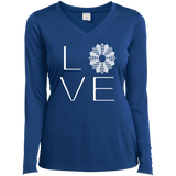 LOVE Quilting Ladies Long Sleeve V-neck Tee - Crafter4Life - 8