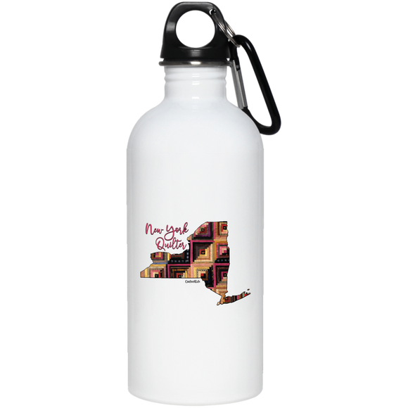New York Quilter Stainless Steel Water Bottle