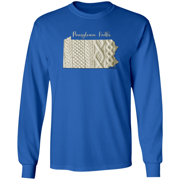 Pennsylvania Knitter LS Ultra Cotton T-Shirt