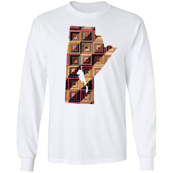 Manitoba Quilter LS Ultra Cotton T-Shirt