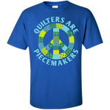 Quilters are Piecemakers Custom Ultra Cotton T-Shirt - Crafter4Life - 9