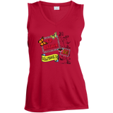 I'd Rather be Scrapbooking Ladies Sleeveless V-neck - Crafter4Life - 3
