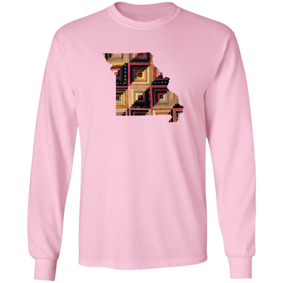 Missouri Quilter LS Ultra Cotton T-Shirt