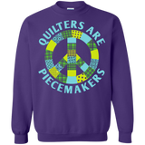 Quilters are Piecemakers Crewneck Sweatshirts - Crafter4Life - 8