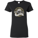 Time for Quilting Ladies T-Shirt