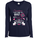 Time-Quilt-Mom Long Sleeve V-neck Tee - Crafter4Life - 3