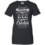 Scrapbookers Don't Lie Ladies Custom 100% Cotton T-Shirt - Crafter4Life - 2