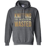 Time Spent Knitting Pullover Hoodies - Crafter4Life - 4