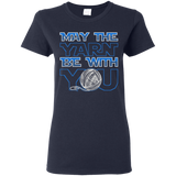 May the Yarn be with You Ladies T-Shirt