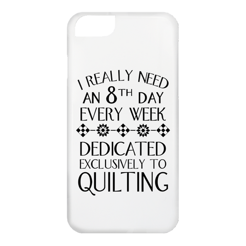 8th Day Quilting iPhone Cases