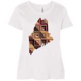 Maine Quilter Curvy Full-Figured T-Shirts