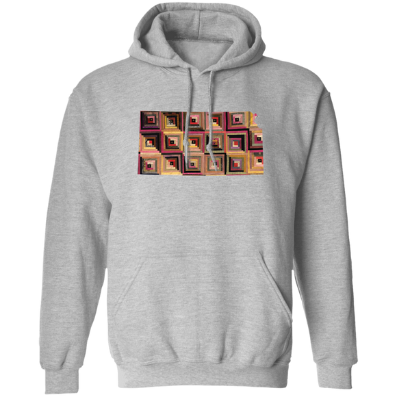 Kansas Quilter Pullover Hoodie