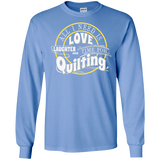 Time for Quilting Long Sleeve Ultra Cotton T-Shirt - Crafter4Life - 7