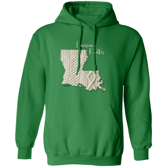 Louisiana Knitter Pullover Hoodie