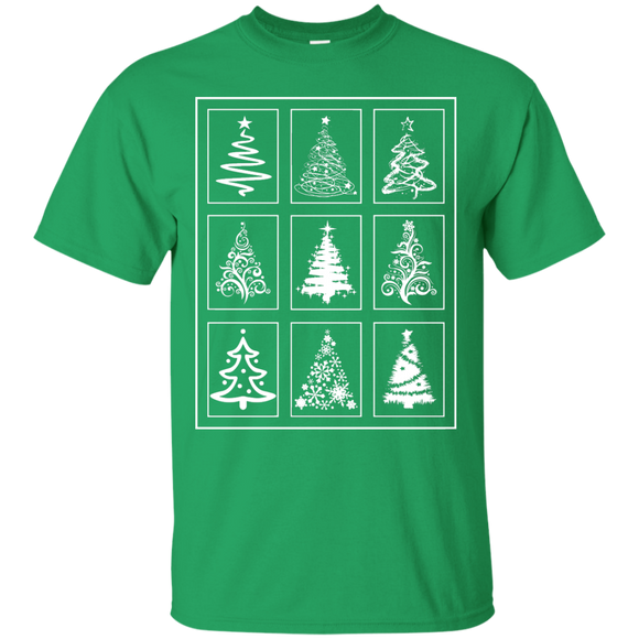 Christmas Tree Quilt Custom Ultra Cotton T-Shirt
