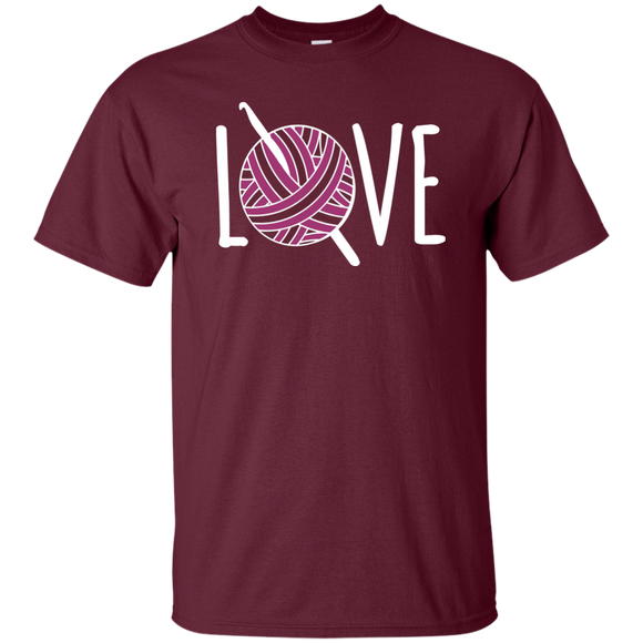 Crochet LOVE Ultra Cotton T-Shirt