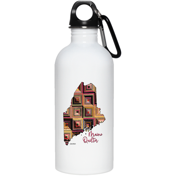 Maine Quilter Stainless Steel Water Bottle