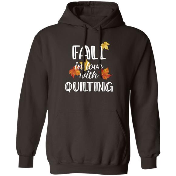 Fall in Love with Quilting Pullover Hoodie