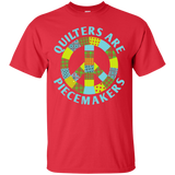 Quilters are Piecemakers Custom Ultra Cotton T-Shirt - Crafter4Life - 8
