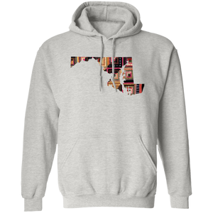 Maryland Quilter Pullover Hoodie