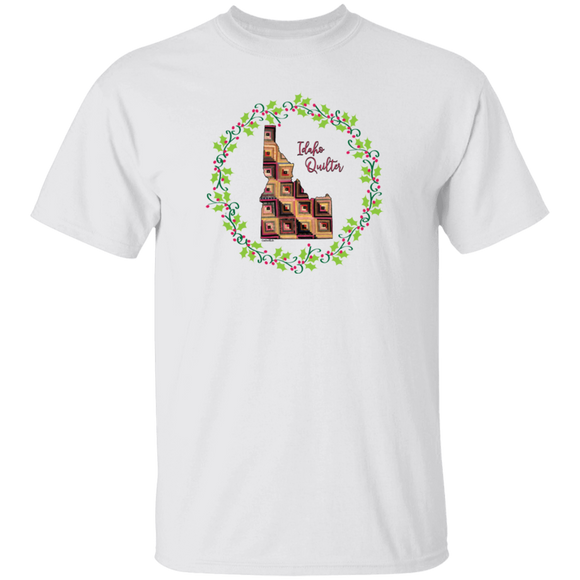 Idaho Quilter Christmas T-Shirt