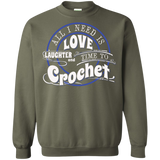 Time to Crochet Crewneck Sweatshirts - Crafter4Life - 11