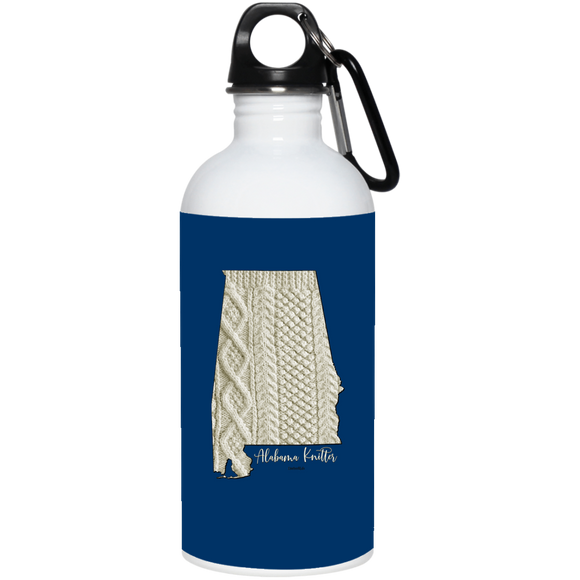Alabama Knitter Stainless Steel Water Bottle