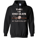 Yarn and Chocolate Pullover Hoodie