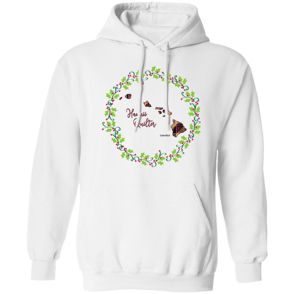Hawaii Quilter Christmas Pullover Hoodie