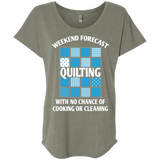 Weekend Forecast: Quilting Ladies Triblend Dolman Sleeve