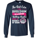 Cure for Boredom - Knitting LS Ultra Cotton T-shirt