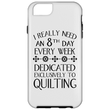8th Day For Quilting iPhone Cases