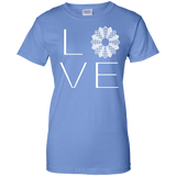 LOVE Quilting Ladies Custom 100% Cotton T-Shirt - Crafter4Life - 9