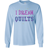 I Dream Quilts Long Sleeve Ultra Cotton T-Shirt - Crafter4Life - 8